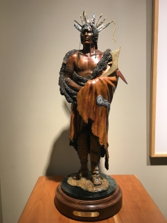 statue of Native American