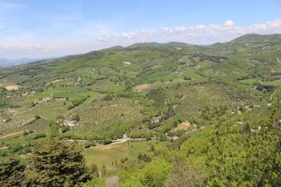 view from Rocca Maggiore