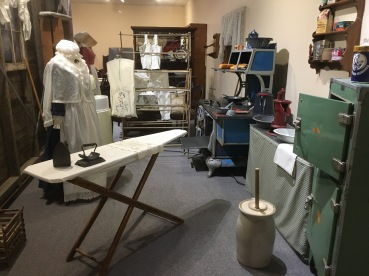 washing and ironing room