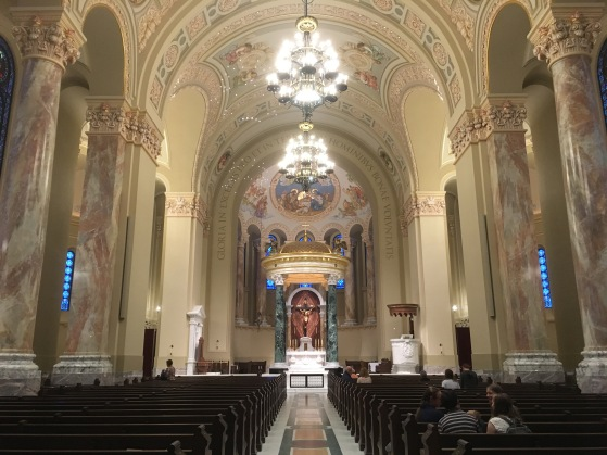 inside Cathedral of St. Joseph