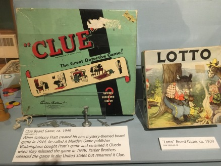 Clue and Lotto