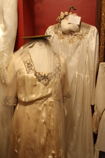 wedding dresses in the Swedish Heritage Center