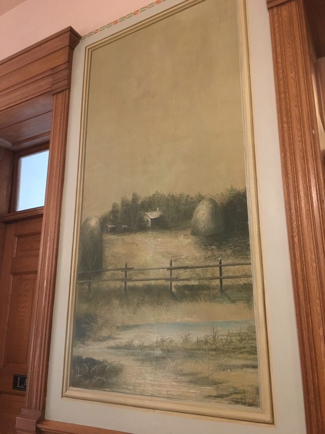 murals at the Old Courthouse Museum