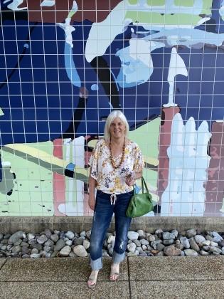 me at Fairfax Corner