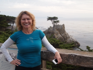 Jayne near Pebble Beach