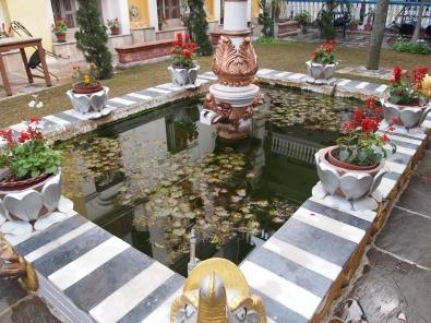 Kathmandu Guest House courtyard