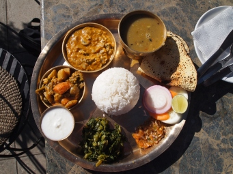 Nepali vegetarian food