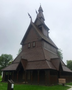 Hopperstad Stave Church Replica