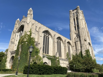 Rockefeller Chapel at University of Chicago