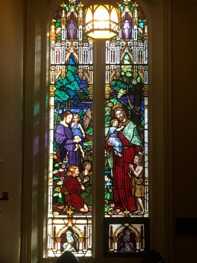 inside St. James Basilica
