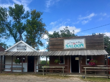 Sheriff's Office and The Blue Blazes Saloon