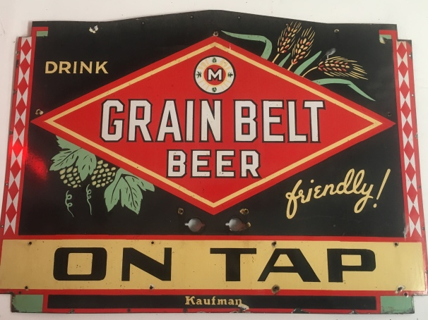 Grain Belt Beer on tap at the Saloon