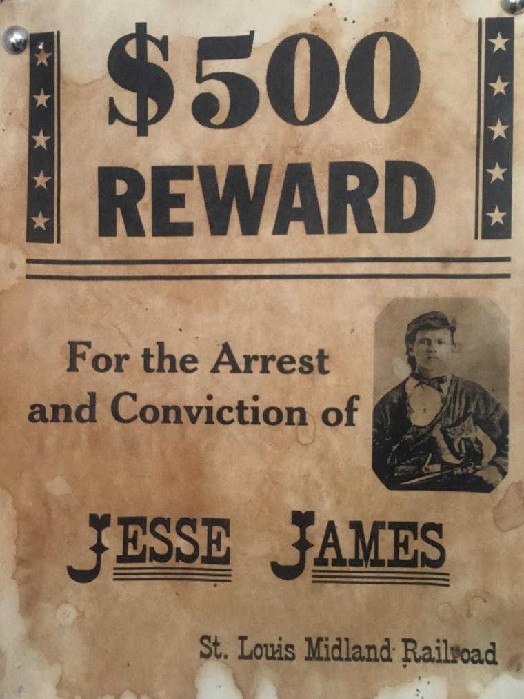 $500 Reward notice