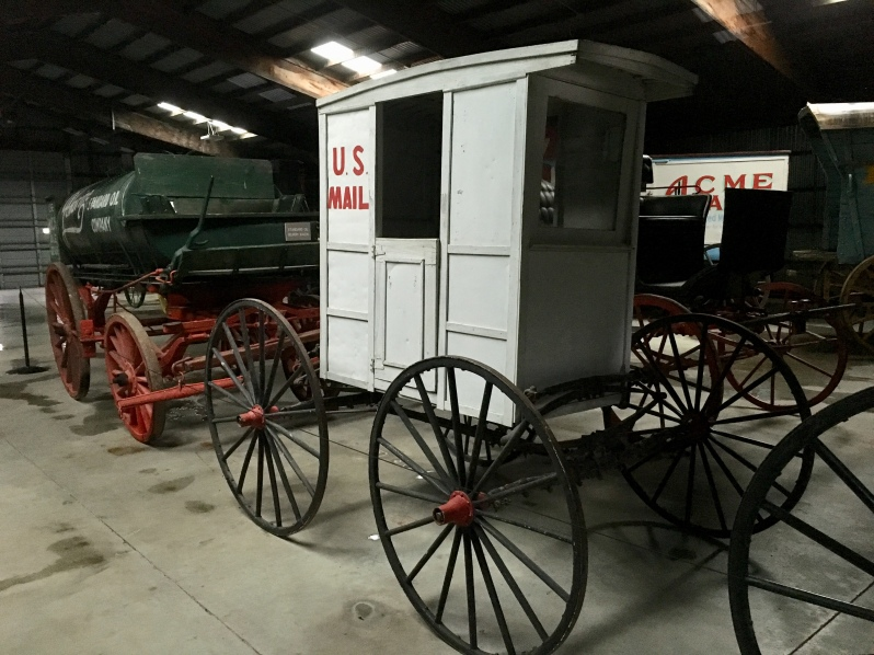 U.S. Mail - Horse Drawn Vehicles