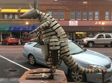 Kangaroos by Dale Lewis