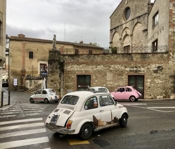 Fiats in Asciano
