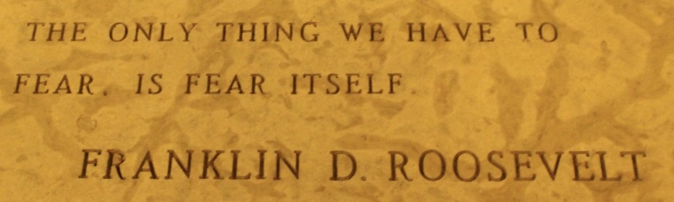 quotes in the Peace Chapel