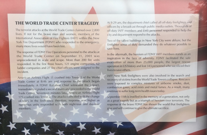 The World Trade Center Tragedy