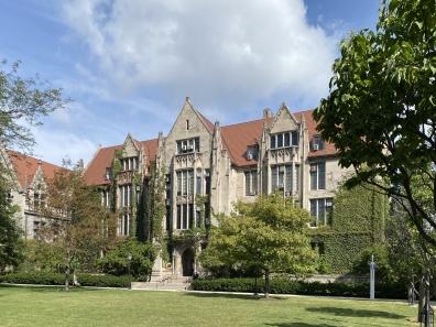 quad at University of Chicago