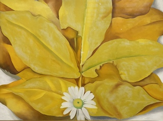 Georgia O'Keeffe at the Art Institute