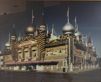 photos of the Corn Palace through the years