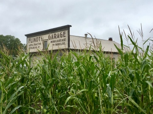 corn and Flindt's Garage