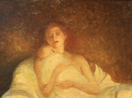 Motherhood, 1927, by Harvey Dunn