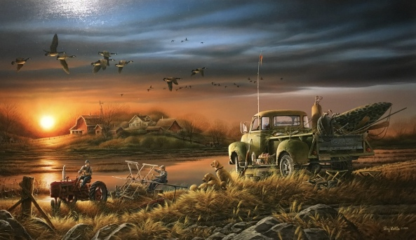 painting by Terry Redlin