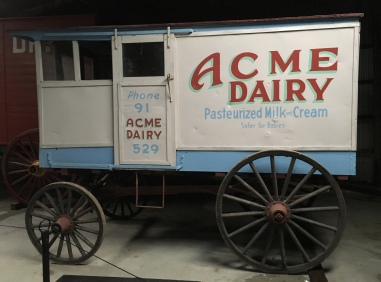Acme Dairy - Horse Drawn Vehicles
