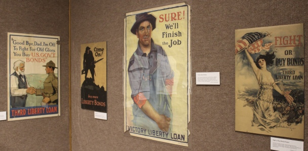 Victory Liberty loan and bond posters