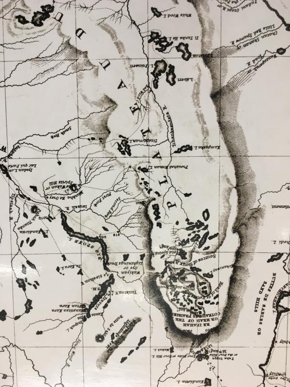 Joseph N. NIcollet's map