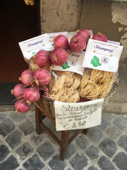 pasta in Spoleto