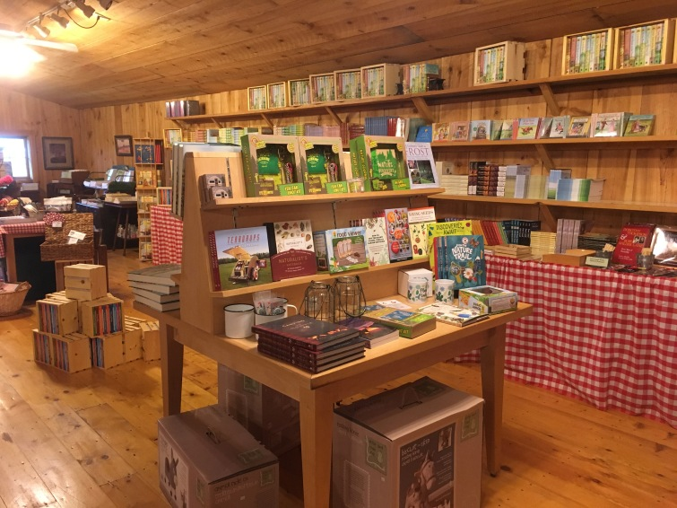 bookstore at Ingalls Homestead