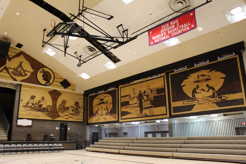 inside The World's Only Corn Palace