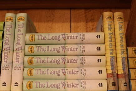books by Laura Ingalls Wilder