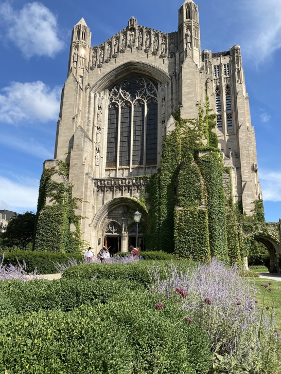 Rockefeller Chapel at University of Chicago