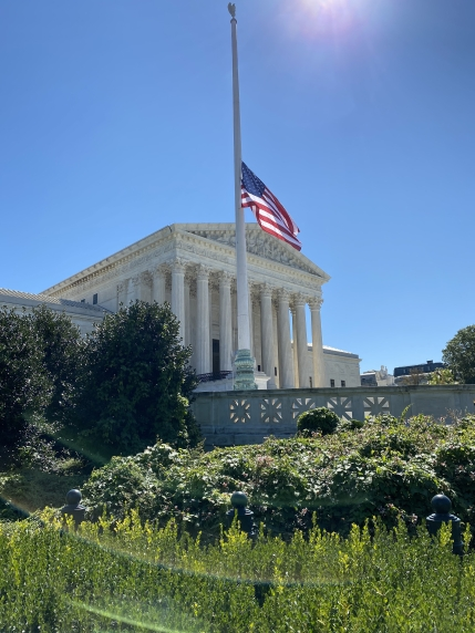 Tributes to Ruth Bader Ginsburg at the Supreme Court