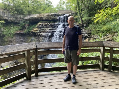 Mike at Brandywine Falls