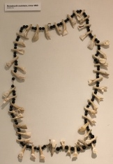 Horsetooth necklace, circa 1890