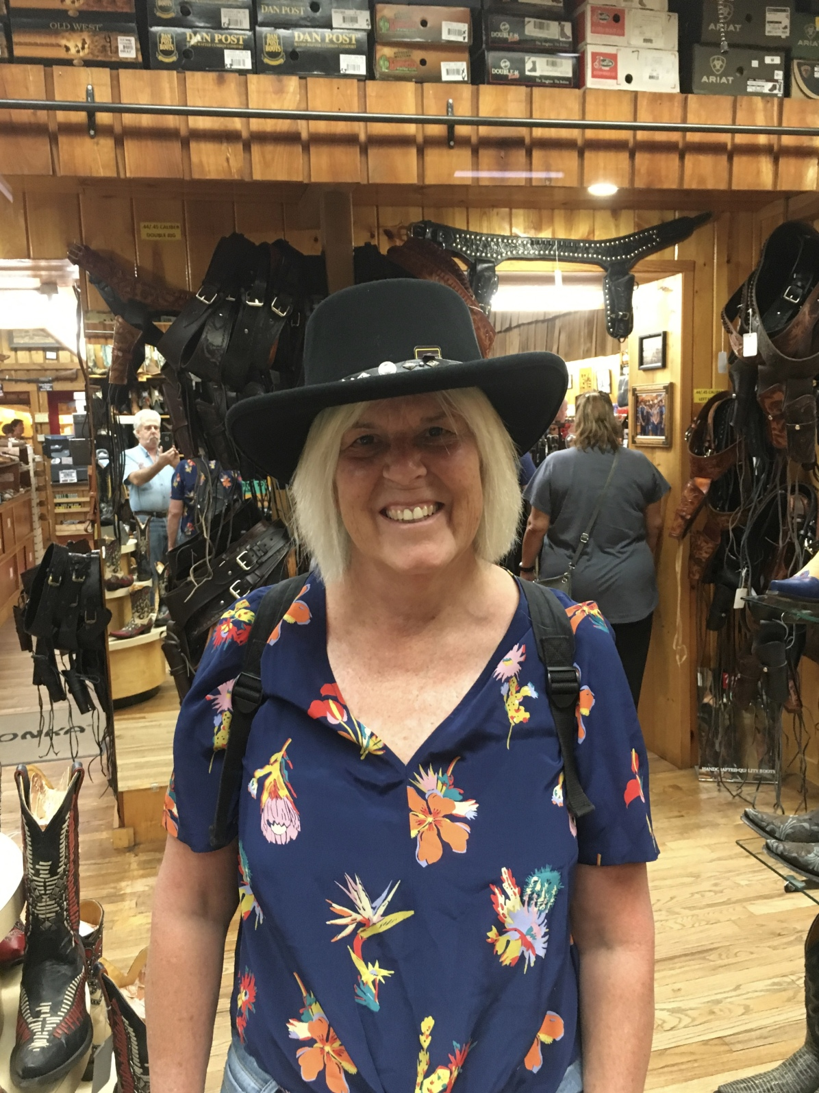 I buy a hat at Wall Drug
