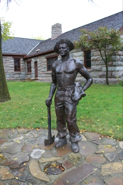 statue for Civilian Conservation Corps
