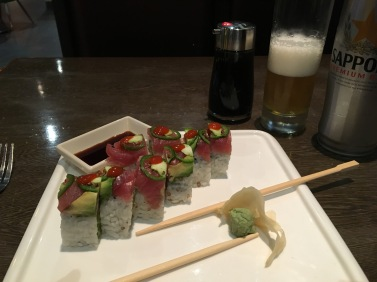 Super Girl Roll at Shogun