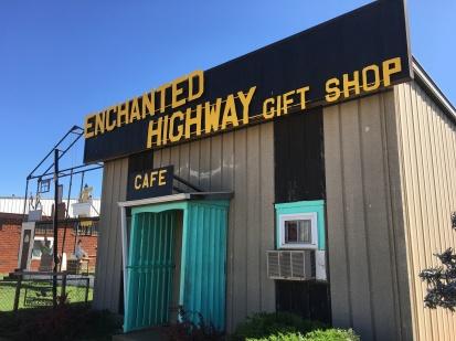 Enchanted Highway Gift Shop in Regent, ND