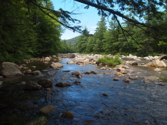 The Swift River along the Kancamagus Highway