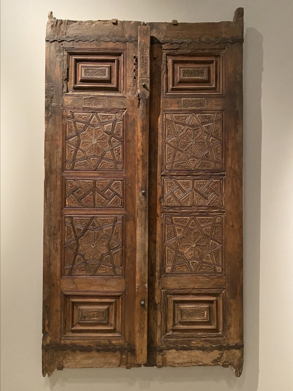 Mausoleum doors from Iran (Tabriz?), made by Qanbar ibn Mahmud