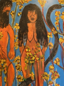 Adam and Eve, ca. 1990 by Reverend Albert Wagner