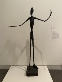 Man Pointing, by Alberto Giacometti