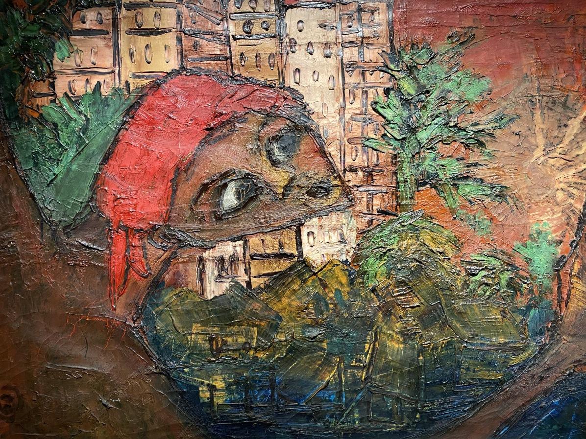 Sto Sognando? La Città è questa? (Am I dreaming? Is this the city?), 1958 by Bertina Lopes