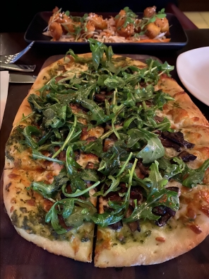 flatbread at Circa at Clarendon