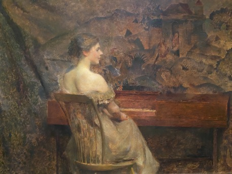 A Portait, 1902 by Thomas Wilmer Dewing